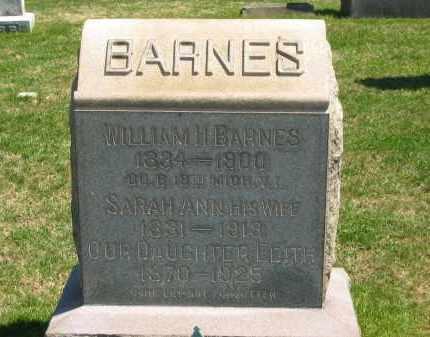 BARNES, EDITH - Lorain County, Ohio   EDITH BARNES - Ohio Gravestone Photos
