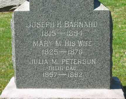 BARNARD, MARY M. - Lorain County, Ohio   MARY M. BARNARD - Ohio Gravestone Photos