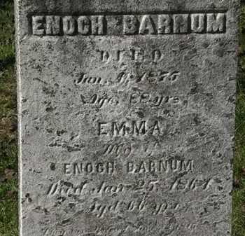 BARNUM, EMMA - Lorain County, Ohio   EMMA BARNUM - Ohio Gravestone Photos
