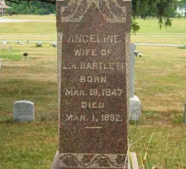 BARTLETT, L.A. - Lorain County, Ohio   L.A. BARTLETT - Ohio Gravestone Photos
