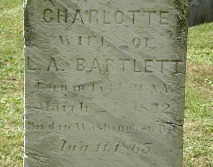 BARTLETT, CHARLOTTE - Lorain County, Ohio | CHARLOTTE BARTLETT - Ohio Gravestone Photos