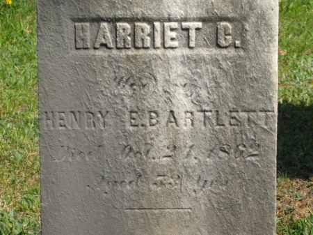 BARTLETT, HARRIET C. - Lorain County, Ohio | HARRIET C. BARTLETT - Ohio Gravestone Photos