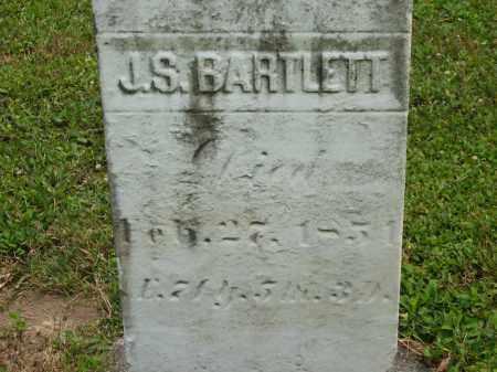 BARTLETT, J.S. - Lorain County, Ohio | J.S. BARTLETT - Ohio Gravestone Photos