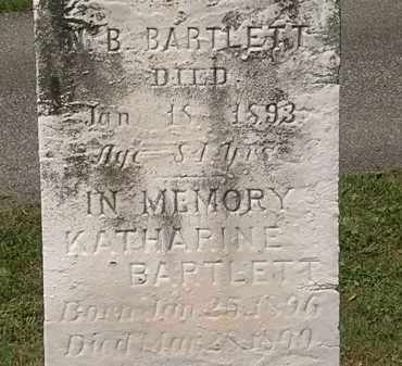 BARTLETT, KATHARINE - Lorain County, Ohio | KATHARINE BARTLETT - Ohio Gravestone Photos