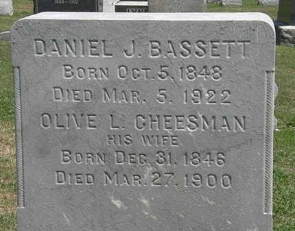 CHEESMAN BASSETT, OLIVE L. - Lorain County, Ohio | OLIVE L. CHEESMAN BASSETT - Ohio Gravestone Photos