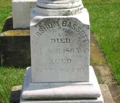 BASSETT, GERSHOM - Lorain County, Ohio | GERSHOM BASSETT - Ohio Gravestone Photos