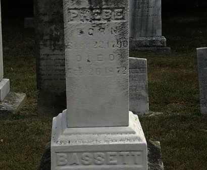 BASSETT, PHEBE - Lorain County, Ohio | PHEBE BASSETT - Ohio Gravestone Photos