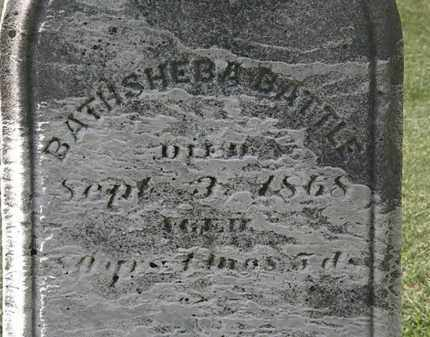 BATTLE, BATHSHEBA - Lorain County, Ohio   BATHSHEBA BATTLE - Ohio Gravestone Photos