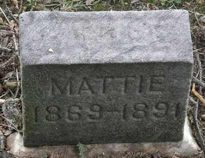 BATTLE, MATTIE - Lorain County, Ohio | MATTIE BATTLE - Ohio Gravestone Photos