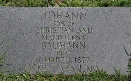 BAUMAN, MAGDALENA - Lorain County, Ohio | MAGDALENA BAUMAN - Ohio Gravestone Photos