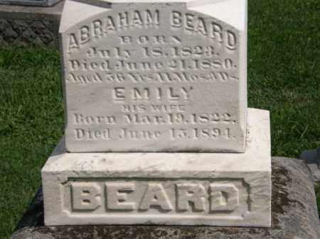 BEARD, ABRAHAM - Lorain County, Ohio | ABRAHAM BEARD - Ohio Gravestone Photos