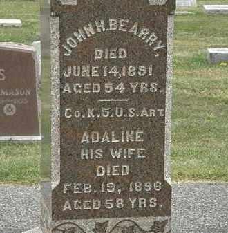 BEARRY, ADALINE - Lorain County, Ohio | ADALINE BEARRY - Ohio Gravestone Photos
