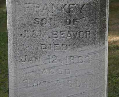 BEAVOR, FRANKEY - Lorain County, Ohio | FRANKEY BEAVOR - Ohio Gravestone Photos