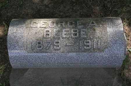 BEEBE, GEORGE A. - Lorain County, Ohio | GEORGE A. BEEBE - Ohio Gravestone Photos