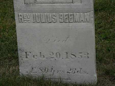 BEEMAN, JULIUS - Lorain County, Ohio   JULIUS BEEMAN - Ohio Gravestone Photos