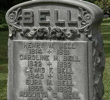 BELL, HENRY W. - Lorain County, Ohio | HENRY W. BELL - Ohio Gravestone Photos
