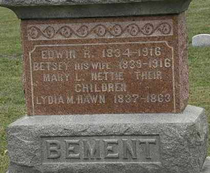 BEMENT, BETSEY - Lorain County, Ohio | BETSEY BEMENT - Ohio Gravestone Photos