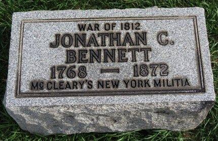 BENNETT, JONATHAN C. - Lorain County, Ohio   JONATHAN C. BENNETT - Ohio Gravestone Photos