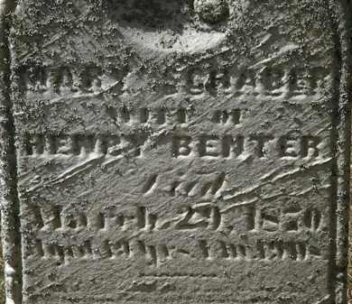 SCHRABER BENTER, MARY - Lorain County, Ohio   MARY SCHRABER BENTER - Ohio Gravestone Photos