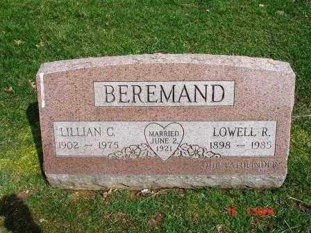BEREMAND, LILLIAN C. - Lorain County, Ohio | LILLIAN C. BEREMAND - Ohio Gravestone Photos