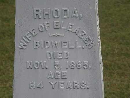 BIDWELL, RHODA - Lorain County, Ohio   RHODA BIDWELL - Ohio Gravestone Photos