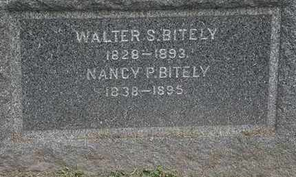 BITELY, WALTER S. - Lorain County, Ohio   WALTER S. BITELY - Ohio Gravestone Photos