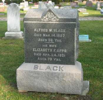 BLACK, ELIZABETH F. - Lorain County, Ohio | ELIZABETH F. BLACK - Ohio Gravestone Photos