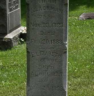 BLACKMAN, HIRAM - Lorain County, Ohio | HIRAM BLACKMAN - Ohio Gravestone Photos