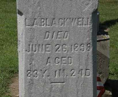 BLACKWELL, L. A. - Lorain County, Ohio | L. A. BLACKWELL - Ohio Gravestone Photos