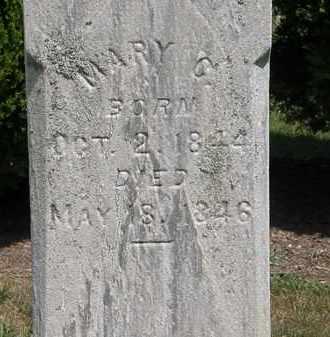 BLACKWELL, MARY C. - Lorain County, Ohio   MARY C. BLACKWELL - Ohio Gravestone Photos