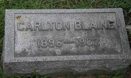 BLAINE, CARLTON - Lorain County, Ohio | CARLTON BLAINE - Ohio Gravestone Photos