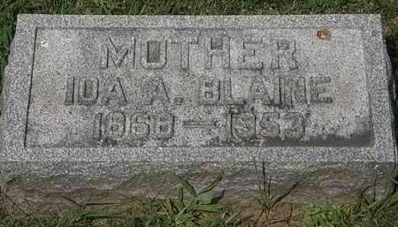 BLAINE, IDA A. - Lorain County, Ohio | IDA A. BLAINE - Ohio Gravestone Photos