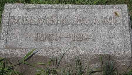 BLAINE, MELVIN E. - Lorain County, Ohio | MELVIN E. BLAINE - Ohio Gravestone Photos