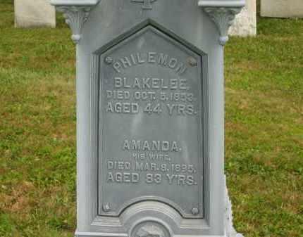 BLAKLEE, AMANDA - Lorain County, Ohio   AMANDA BLAKLEE - Ohio Gravestone Photos