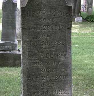 BLAKESLEY, CHANCY - Lorain County, Ohio   CHANCY BLAKESLEY - Ohio Gravestone Photos