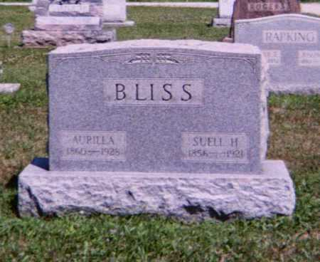 H. BLISS, SUELL - Lorain County, Ohio | SUELL H. BLISS - Ohio Gravestone Photos