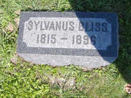BLISS, SYLVANUS - Lorain County, Ohio | SYLVANUS BLISS - Ohio Gravestone Photos