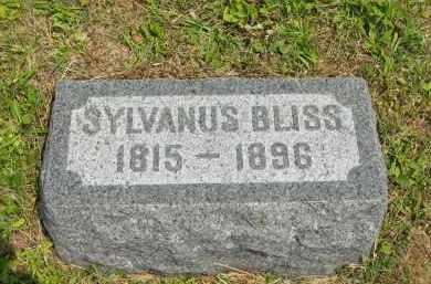 BLISS, SYLVANUS - Lorain County, Ohio | SYLVANUS BLISS - Ohio Gravestone Photos