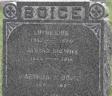BOICE, ARTHUR - Lorain County, Ohio | ARTHUR BOICE - Ohio Gravestone Photos