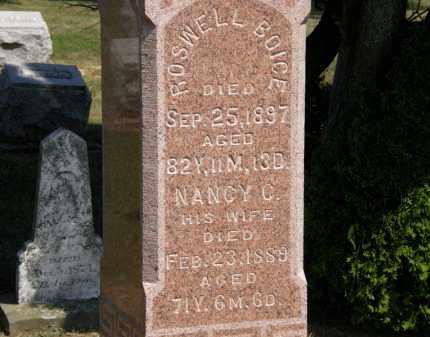 BOICE, ROSWELL - Lorain County, Ohio   ROSWELL BOICE - Ohio Gravestone Photos