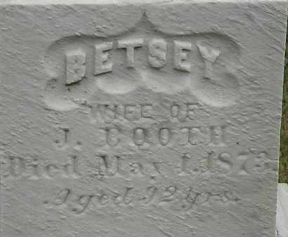 BOOTH, BETSEY - Lorain County, Ohio | BETSEY BOOTH - Ohio Gravestone Photos