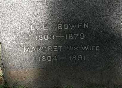 BOWEN, L.E. - Lorain County, Ohio | L.E. BOWEN - Ohio Gravestone Photos