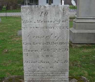 BOYNTEN, RUTH - Lorain County, Ohio | RUTH BOYNTEN - Ohio Gravestone Photos