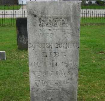 BOYNTON, JOSH - Lorain County, Ohio | JOSH BOYNTON - Ohio Gravestone Photos