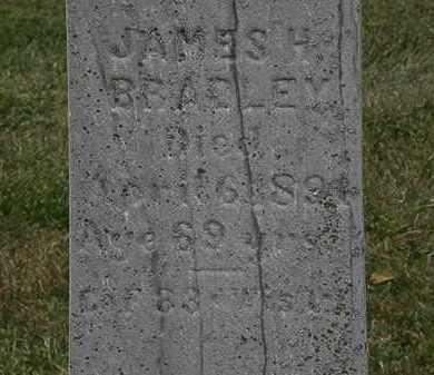 BRADLEY, JAMES H. - Lorain County, Ohio | JAMES H. BRADLEY - Ohio Gravestone Photos