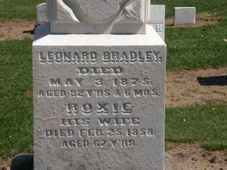 BRADLEY, ROXIE - Lorain County, Ohio | ROXIE BRADLEY - Ohio Gravestone Photos