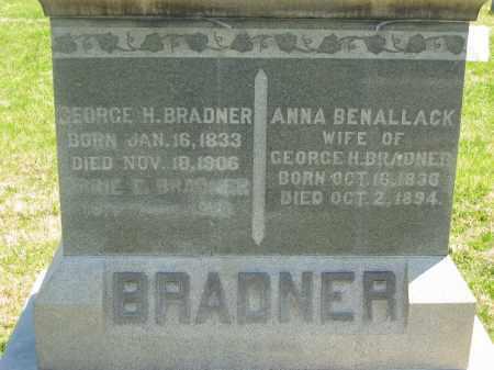 BRADNER, ANNA - Lorain County, Ohio   ANNA BRADNER - Ohio Gravestone Photos