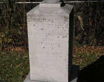 BRADSTOCK, CHRISTENA - Lorain County, Ohio | CHRISTENA BRADSTOCK - Ohio Gravestone Photos