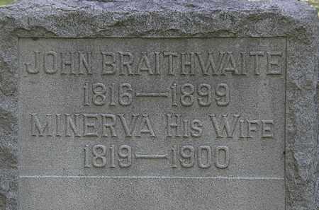 BRAITHWAITE, JOHN - Lorain County, Ohio   JOHN BRAITHWAITE - Ohio Gravestone Photos
