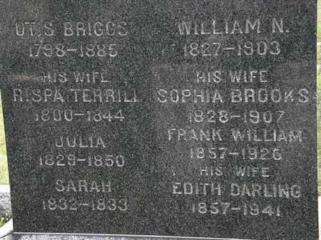 BRIGGS, WILLIAM N. - Lorain County, Ohio | WILLIAM N. BRIGGS - Ohio Gravestone Photos